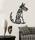 Vinyl Wall Decal Mythical Coyote Native Tribal Animal Predator Stickers 2677ig