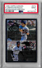 1998 Topps Chrome Ken Griffey Jr. Mike Piazza Interleague Preview PSA 9