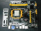 Foxconn A88GMX AM3 Micro ATX AMD Motherboard With 4GB RAM CPU and I O Shield