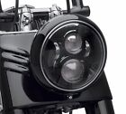Dot Approved 7Inch Black LED Daymaker Headlight for Harley Davidson Motorcycl...