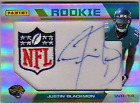 2012 Panini Father's Day Manufactured Patch Autographs #JB Justin Blackmon NFL