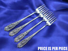 *1* WESTMORELAND MILBURN ROSE STERLING SILVER COCKTAIL FORK -EXCELLENT CONDITION