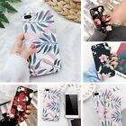 For Samsung Galaxy S9 S7 Cute Hard Rugged Pattern Flower Phone Slim Case Cover