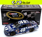 Jimmie Johnson 2013 Lowes Martinsville Win 1 24 Die Cast NEW