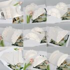 10pcs Invitation Cards for Wedding Party Butterfly Laser Cut Vertical White US