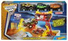 Hot Wheels Monster Jam World Finals Stunt Pack Play Set NEW For Ages 4+