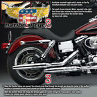 2006 20092014 2015 Harley FXDL Dyna Low Rider Peacemakers Volume Ctrl Exhaust