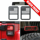 Tail Light Guards Cover Brake Light Cover For Jeep Wrangler JK Unlimited Parts