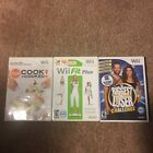 Wii Games The Biggest Loser Challenge SEALED Wii Fit Plus Cook or Be Cooked