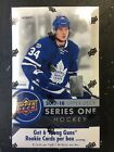 2017 18 UPPER DECK SERIES ONE HOCKEY FACTORY SEALED HOBBY BOX