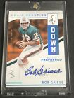 2016 Preferred BOB GRIESE Real 1 1 Autograph Dolphins Auto