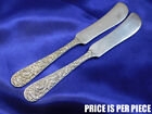 KIRK REPOUSSE STERLING SILVER BUTTER KNIFE - GOOD CONDITION