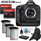 Canon EOS 1D X Mark II DSLR Camera + Two 32GB CF Cards Bundle