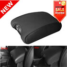 Center Armrest Console Cover Plus Neoprene Protector for Jeep Wrangler 11+ Black