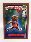 2015 Garbage Pail Kids 30th Rare RED Border Mad Michael - hobby collector box