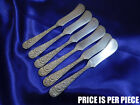 *1* KIRK REPOUSSE STERLING SILVER BUTTER KNIFE - GOOD CONDITION 180616
