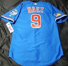 Authentic! Majestic SIZE 48 XL, CHICAGO CUBS TBTC, JAVIER BAEZ, ON FIELD JERSEY