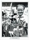 Signed Photo The Doc  Big Ron Manchester United FA Cup Winning Managers