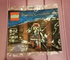 LEGO Pirates of the Carribean 30312 Jack Sparrow Polybag, NISP, Ships Fast!