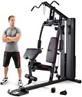 Marcy MKM 81010 Home Multi Gym with 90kg Stack Chest Press Lat Pulldown Row
