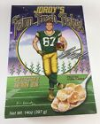 Jordy's Farm Fresh Flakes Unopened Cereal Box Jordy Nelson Green Bay Packers STK