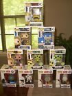 Funko Pop Mixed Lot Of 10 (Marvel, Star Wars Rick & Morty , DC ) AND EXCLUSIVES