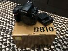 Nikon D D810 363MP Digital SLR Camera Black Body Only