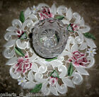Royal Rose Lace Doily Flower Floral 11 Round Roses
