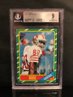 1986 Fleer Jerry Rice #161 RC BGS 9 w 2 9.5s G.O.A.T. Wide Reciever $549.99