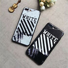 Marble zebra Line OFF WHITE Phone Case Cover For ip-hone X 6s 6 S 7 Plus 8 8plus