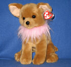 TY DIVALECTABLE the DOG  BEANIE BUDDY - MINT with MINT HANG TAG