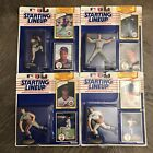 1990 Starting Lineup NY METS PITCHING  Ron Darling Nolan Ryan D Gooden F Viola