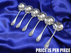 WALLACE ROSE STERLING SILVER BOUILLON SOUP SPOON - NEARLY NEW CONDITION