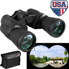 10X50 Outdoor Waterproof Day Night Hiking Hunting 10KM Wide Angle Binoculars US