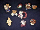 BOYD'S BEARWEAR RESIN PINS/BROOCH CHOOSE FROM A VARIETY OF 6 DIFFERENT PINS
