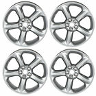 OEM NEW 18 5 Spoke Aluminum Wheel Set 4 Painted Silver Sparkle 13 16 Fusion