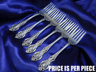 *1* WALLACE GRAND VICTORIAN STERLING SILVER SALAD FORK - EXCELLENT CONDITION