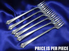 *1* ROYAL CREST CASTLE ROSE STERLING SILVER COCKTAIL FORK - VERY GOOD CONDITION