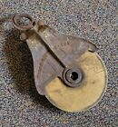 Cast Iron Myers Barn Pulley H-299