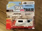 Johnny Lightning 164 Truck and Trailer 1997 Chevy Tahoe W Camper JLSP019 Chase