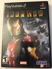 Ironman rated T For Teen For Playststion 2 Made By Marvel Pre-Owned!