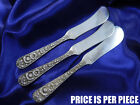 *1* KIRK REPOUSSE STERLING SILVER BUTTER KNIFE - GOOD CONDITION