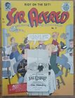 Sir Alfred No 3 Tim Hensley Signed Limited Edition Final Pigeon Press book RIP