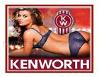 KENWORTH SEXY GIRL STICKER TRUCK DECAL GARAGE LABEL MAN CAVE TOOLBOX MADE IN USA