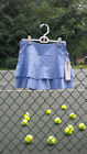 Lija Ladies Tennis Skort Tranquil blue XS NWT Free Shipping
