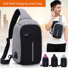 Luxury zipper Shoulder package Wallte anti therft charging chest bag Phone Case