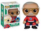 FUNKO POP STAN LEE SUPERHERO RED SUIT FIGURE 2015 COMIKAZE EXCLUSIVE MARVEL