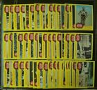 1977 Topps Star Wars Series 3 Almost Complete 54 Yellow Trading Card Set EX -NM-