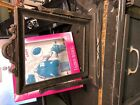 Vintage SWING FRAME Wood 8x10  Photo Picture Display Silver