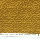 4 2 3 Yards 44 W TAZU by Anna Fishkin for Red Rooster Fabrics Brown Gold Ripple